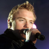 Lead Singer of Boyzone Ronan Keating in Concert at King&#39;s Hall Belfast Photographie