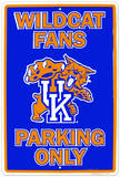 University of Kentucky Tin Sign
