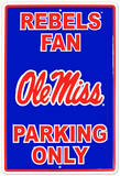 University of Mississippi Tin Sign