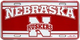 University of Nebraska Tin Sign