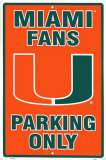 University of Miami Tin Sign