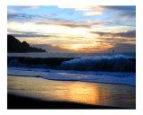 Baker Beach Sunset Photographic Print by Richard Nodine