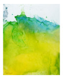 Yellow Blue Green Giclee Print by Corrine Ellsworth
