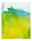 Yellow Blue Green Giclee Print by Corrine Ellsworth
