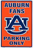 Auburn University Tin Sign
