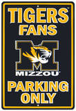 University of Missouri Tin Sign