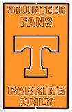 Université du Tennessee Plaque en métal