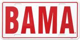 Uniwersytet Alabama Plakietka emaliowana
