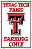 Texas Tech Tin Sign