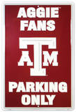 Texas A&M Tin Sign
