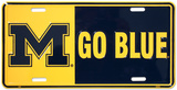 University of Michigan Tin Sign
