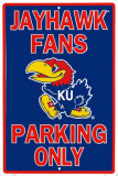 Kansas University Tin Sign