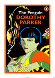 Dorothy Parker, Collected Works Poster by Michael Farrell