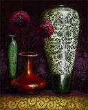 Persian Gardens IV Affiche par Selina Werbelow