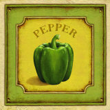 Pepper Prints by Daphne Brissonnet