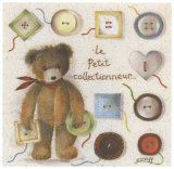 Le Petit Collectionneur Prints by Joëlle Wolff