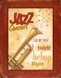 New Orleans Jazz I Plakater af Pela