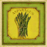 Asparagus Prints by Daphne Brissonnet
