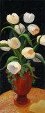 Tulips by Night Posters by Leila Platt