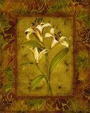 Garden Lilies II Poster by Allyn Engman