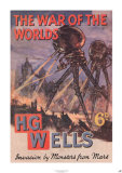 The War of the Worlds by H.G. Wells Prints