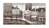 Vue de Paris, Place du Tertre Posters by Aleksandre Kukolj