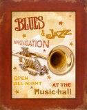 New Orleans Jazz IV Plakat af Pela