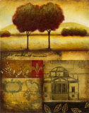 Renaissance Landscape II Posters by Susan Osborne