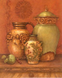 Tuscan Urns II Posters by Pamela Gladding
