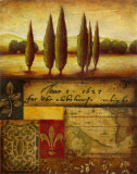 Renaissance Landscape I Prints by Susan Osborne