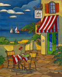 Cafe Cheri Prints by Paul Brent