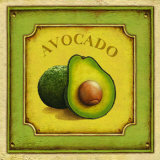 Avacado Print by Daphne Brissonnet