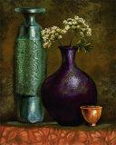 Persian Gardens II Poster by Selina Werbelow