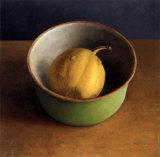 Green Bowl I Prints by  Van Riswick