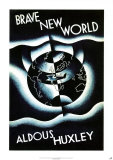 Brave New World by Aldous Huxley アートポスター : レズリー・ホランド