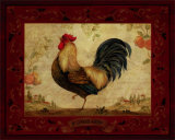 Gallo Nero Art by Pamela Gladding