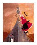 La Mere Poule Prints by Diane Ethier
