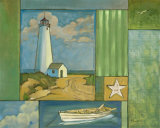 Lighthouse Collage I Prints by Paul Brent