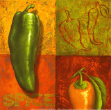 Chili IV Prints by Delphine Corbin