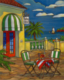 Bistro St. Emil Art by Paul Brent