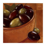 Bol Olives Laurier Prints by Chantal Godbout