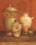 Tuscan Urns I Posters par Pamela Gladding