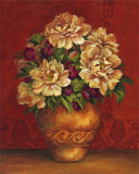 Tuscan Peonies Posters by Pamela Gladding