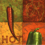 Chili III Art by Delphine Corbin