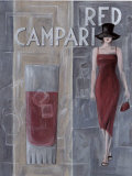 Red Campari Print by M Tierry