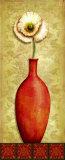 Asian Red II Prints by Delphine Corbin