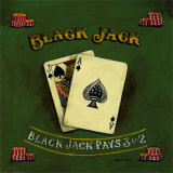 Blackjack Posters by Gregory Gorham