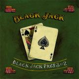 Blackjack Posters by Gregory Gorham