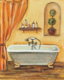 Tuscan Bath I Art by Silvia Vassileva