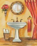 Tuscan Bath IV Poster by Silvia Vassileva